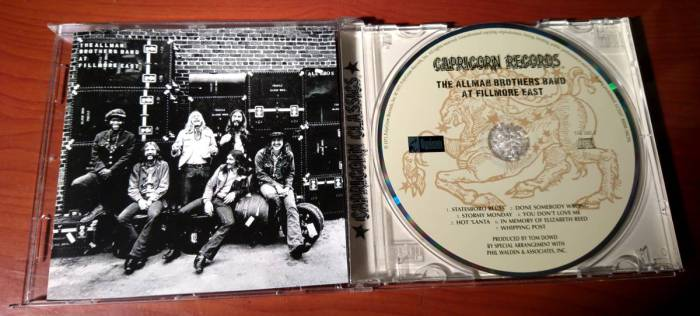 The Allman Brother Band at Fillmore East